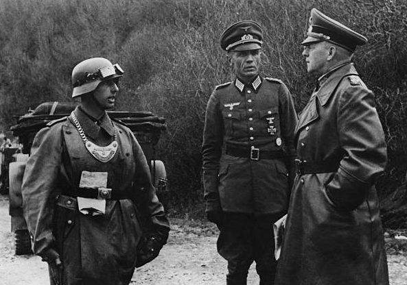 Эвальд Клейст на восточном фронте. 1942 г.