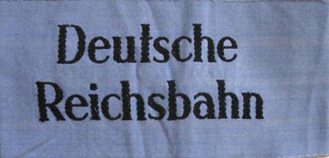 Стандартные нарукавные повязки Reichbahn.