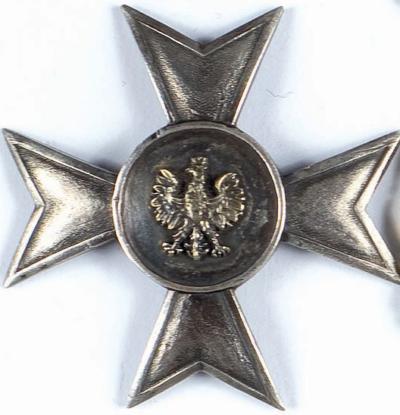 Солдатский полковой знак 80-го пехотного полка.
