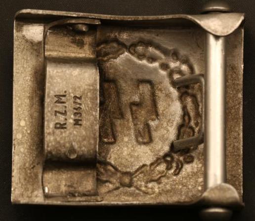 Пряжки латунные Waffen СС.