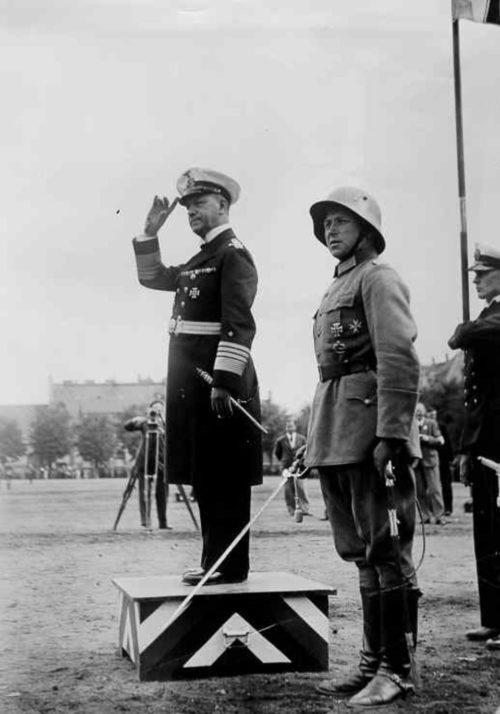 Эрих Редер. 1934 г.