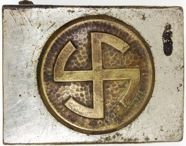 Пряжки Датского добровольческого корпуса СС «Шальбур».