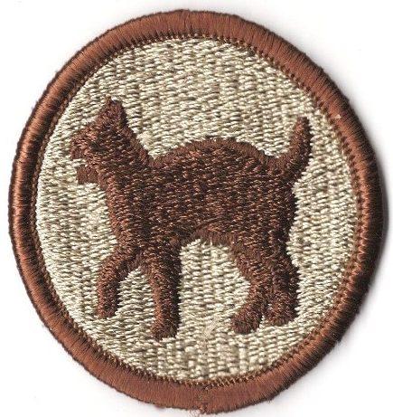 81-я пехотная дивизия. Созданная в 1944 году.