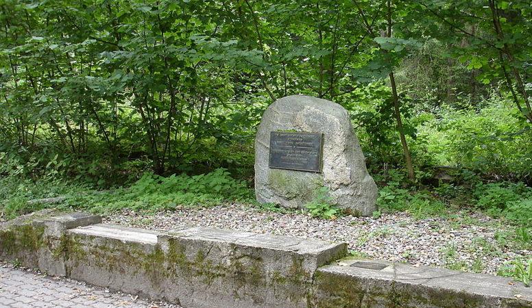 Место летнего бункера, где было совершено покушение на Гитлера.