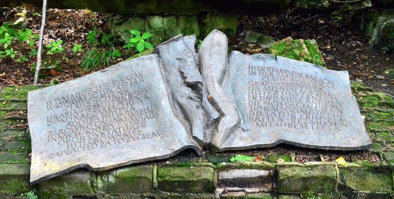 Памятная доска о покушении на Гитлера.