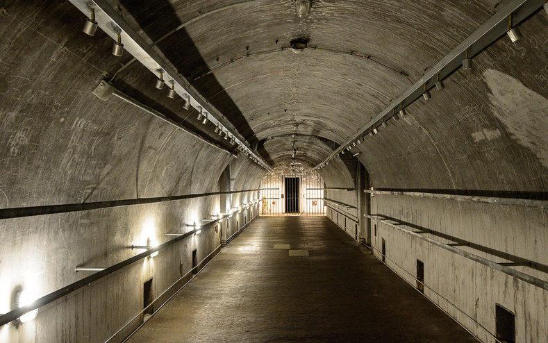 Тоннели, соединяющие бомбоубежища на территории резиденции.