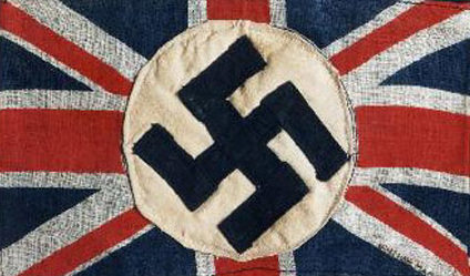 Нарукавная повязка Британской императорской фашистской лигы.