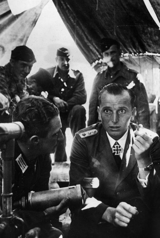 Отто Кпечмер дает интервью. 1940 г.