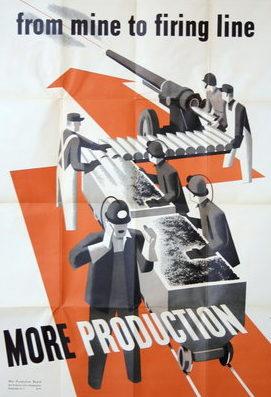 Пропагандистские плакаты США.