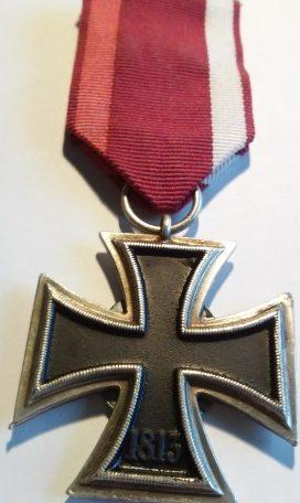 Реверс креста Варшавского восстания.