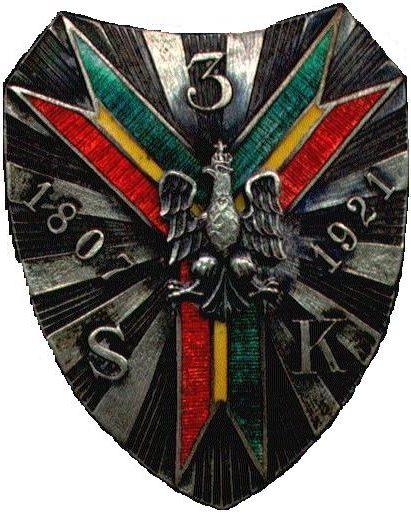 Полковой знак 3-го полка конных стрелков им. гетмана Стефана Чарнецкого.