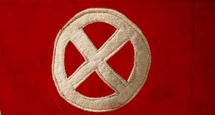 Нарукавная повязка молодежного крыла национал-социалистов Дании.