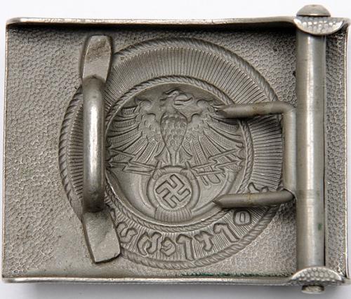 Стальная пряжка служащих Postschutz.