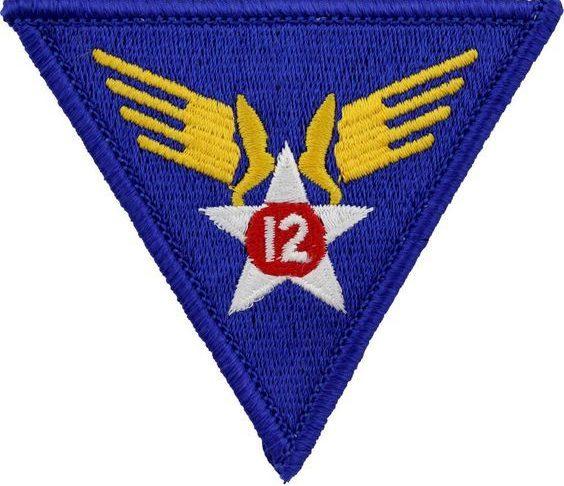12-й флот ВВС, созданный в 1942 г.