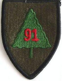 91-я пехотная дивизия. Созданная в 1943 году.