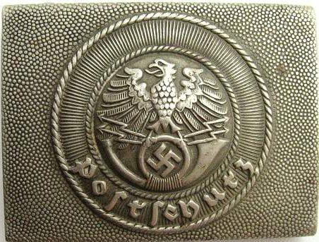 Алюминиевая пряжка служащих Postschutz.