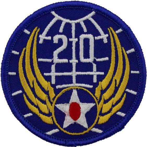 20-й флот ВВС, созданный в 1943 г.