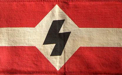 Нарукавная повязка Национал-социалистической молодежи Фландрии.