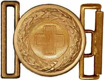 Пряжка ремня офицера Немецкого Красного Креста образца 1935 г.