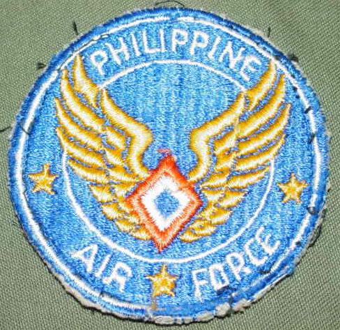 Нарукавная нашивка ВВС на Филиппинах.