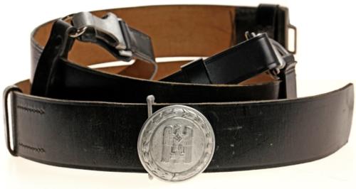 Ремень с портупеей и пряжкой офицера Немецкого Красного Креста образца 1938 г.