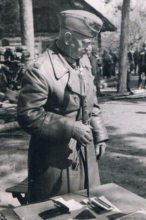 Вальтер Рейхенау на Восточном фронте. 1941 г.