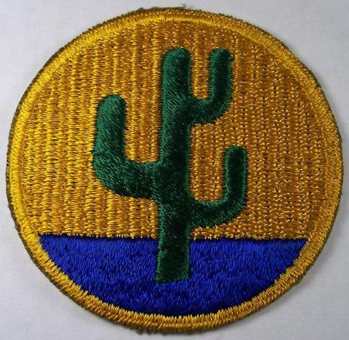 103-я пехотная дивизия. Развернутая в Европе в 1944 г.