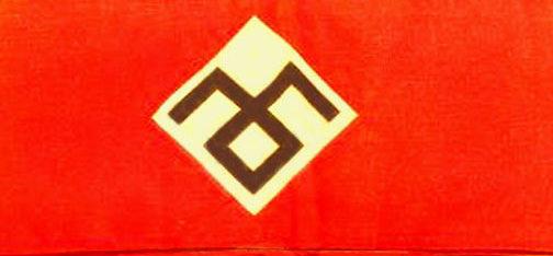 Нарукавные повязки Французской фашисткой партии RNP.