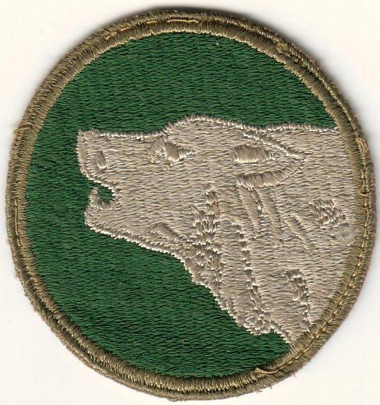 104-я пехотная дивизия. Развернутая в Европе в 1944 г.