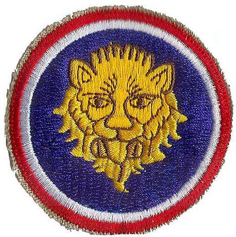 106-я пехотная дивизия. Развернутая в Европе в 1944 г.