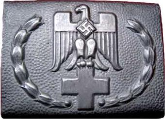 Пряжка рядового состава Немецкого Красного креста образца 1943 г.