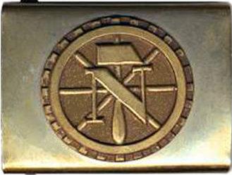 Пряжка рядового состава TeNo образца 1934 г.