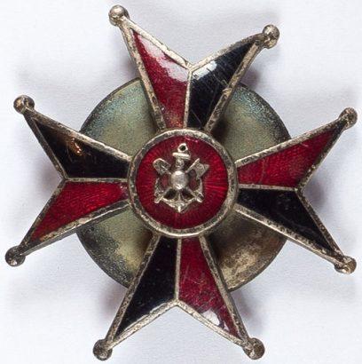 Полковой знак сапёрного эскадрона.