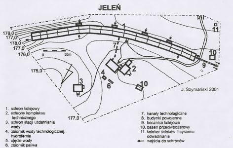 План ангара «Центр».