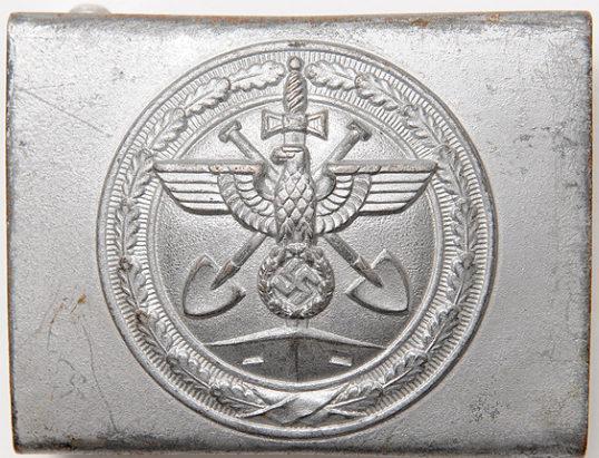 Ремень и стальная пряжка рядового состава организации Тодта образца 1941 г.