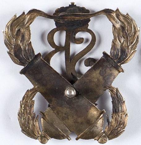 Аверс и реверс памятного знака 3-го тяжелого артиллерийского полка им. короля Стефана Батория.