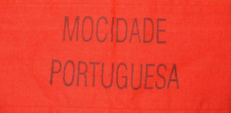 Нарукавная повязка Португальской национал-социалистической партии.