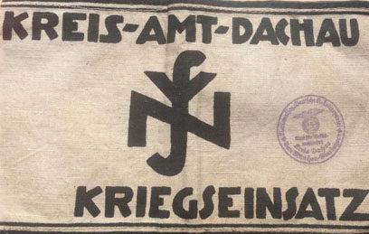 Нарукавная повязка окружного управления NSV.