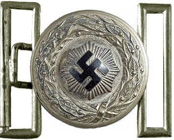 Офицерская алюминиевая пряжка RLB.