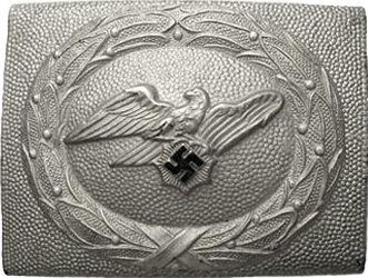Ремень и ранняя пряжка рядовых служащих RLB образца 1939 г.