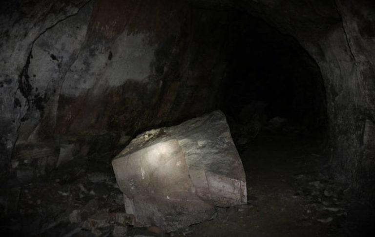 Взорванные тоннели и подземные цеха.