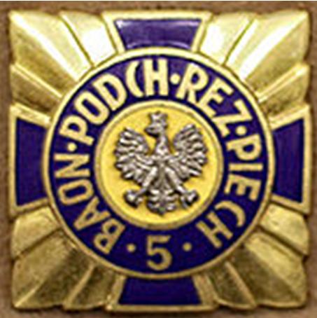 Памятный знак 5-й школы офицерского резерва пехоты.
