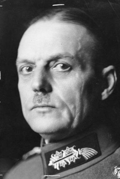 Герд фон Рунштедт. Генерал-фельдмаршал.