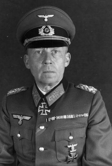 Готхард Хейнрици. Генерал-полковник.
