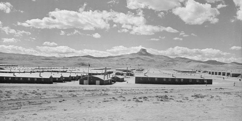 Лагерь «Heart Mountain» в штате Вайоминг для интернированных. Сентябрь 1942 г.