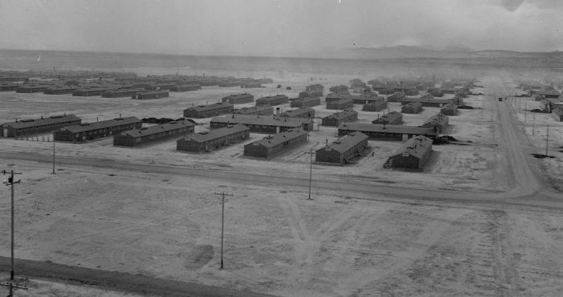 Лагерь «Topaz» в штате Юта для интернированных. Март 1943 г.
