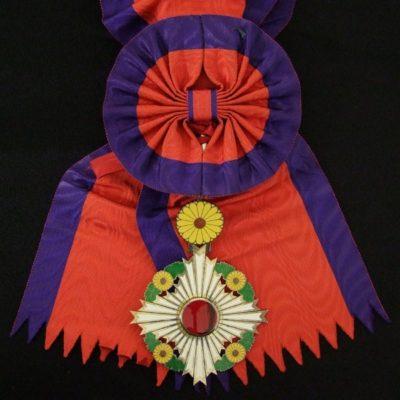 Орден Хризантемы на Большой ленте