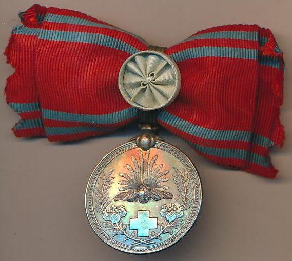 Серебряная медаль для женщин.