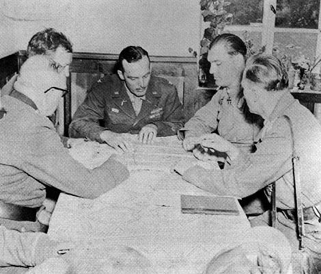 Теодор Тольсдорф во время Польской кампании. 1939 г.