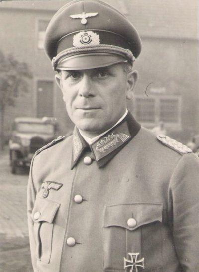 Карл-Адольф Холлидт. Генерал-полковник.